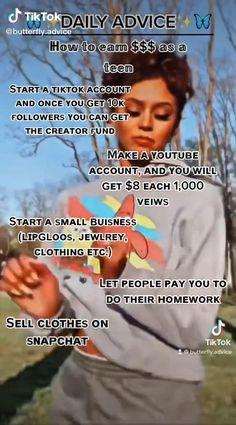 Girl Advice, Girl Tips, Girl Life Hacks, Girls Life, Jobs For Teens, The Glow Up, Glow Up Tips, Baddie Tips, Amazing Life Hacks