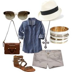 Spring/Summer outfit, fedora!