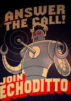 """Answer the Call, Join Echoditto"""