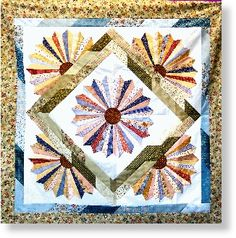 Dresden Bloom Pattern from Cozy Quilt Designs - Texas Quilt Shop