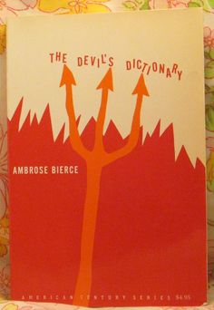 VINTAGE BOOK The Devil's Dictionary