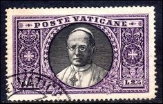 Vatican City 1933 2l75 Pope Pius, fine used.