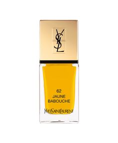 La Laque Couture Jaune Babouche d'Yves Saint Laurent Beauté - want and need!