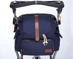 KAOS Ransel (baby bag/diaper bag) blue
