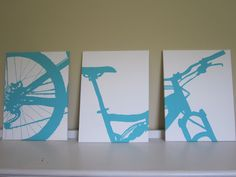 DIY Silhouette Paintings. -- would be cool to make for my padre