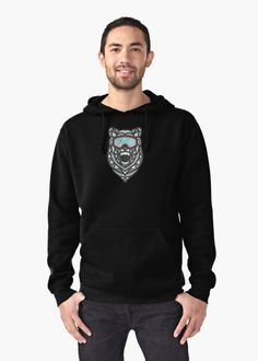 Check out our Polar Bear Madness Hoodie (Pullover) here!
