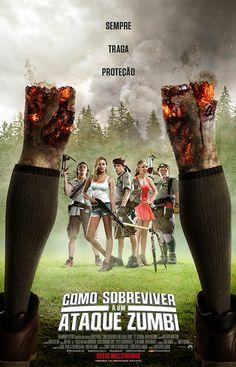 Poster do filme Como Sobreviver a um Ataque zumbi