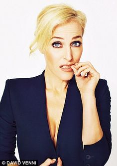 Gillian Anderson photographed by David Venni for Event Magazine