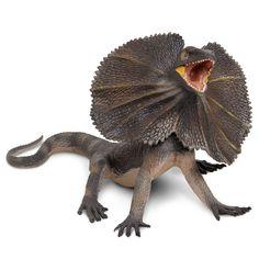 Frilled Lizard Incredible Creatures Figure Safari Ltd