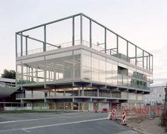 Muoto Architectes · Public condenser
