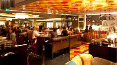 Vegas tapas bar run by José Andres, excellent pan con tomate and butifarra stew.