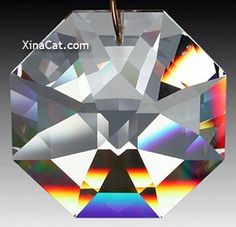 Swarovski 8115-50mm Lily Octagon Crystal Prism SunCatcher with Etched Logo by Swarovski. $18.25. Has a hole at the top for easy hanging!. Makes a great gift or ornament. Swarovski Strass-32% leaded. 50mm=2 inches. Great for feng Shui. Made in Austria, Swarovski is world-renowned for the finest leaded crystal in the world. They are machine cut and polished to perfection.The finest prism available!They are optically pure containing no internal streaks or bubbles. The sparkle in t...