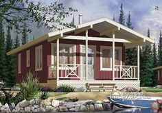 A Simple 18x30 Cabin with Awesome Must See Floor Plan