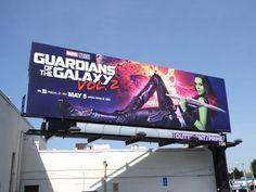 Guardians of the Galaxy Vol. 2 Gamora billboard