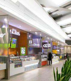 Carrefour Laval Food Court by GHA design studios - Laval, Quebec