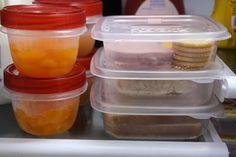 Lunch Box Planning & Organizing Ideas