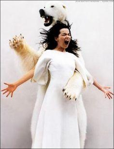 Amazing portrait of Bjork by Jean-Baptiste Mondino Anthony Kiedis, Freddie Mercury, Mazzy Star, Lauryn Hill, Nina Hagen, Trip Hop, Josephine Baker, Grace Jones, Carl Jung