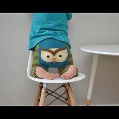 Doodlepants Woodland Owl Leggings