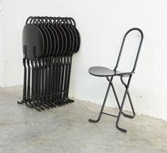 Dafne Folding Chairs by Gastone Rinaldi for Thema Italy