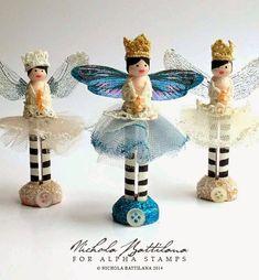 Pixie Hill: Peg Doll Fairies