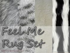 Feel Me fur rugs by LunaTemple • Sims 3 Downloads CC Caboodle