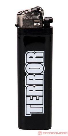 Terror Lighter (Black/White) | 860-Light-050