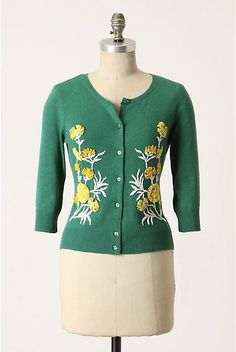 From The Green Cardi Anthropologie com - Stylehive