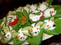 ♥ Retete simple si gustoase ♥: Idei pentru masa de Craciun si Revelion Sushi, Ethnic Recipes, Food, Essen, Meals, Yemek, Eten, Sushi Rolls
