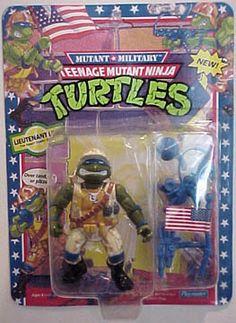 Playmates 1991 – Lieutenant Leo « MutantOoze.org: Teenage Mutant Ninja Turtles