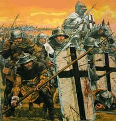 German Order warriors. But it reminds me of House Bolton's Pikemen, though. really cool...