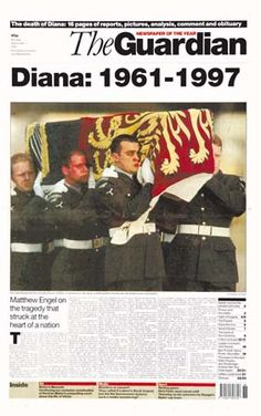 1997 ... Nation mourns Princess Diana's death