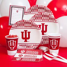 Indiana University Party Pack for 8