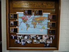 pictures  of church missionary displays | This is the most recent bulletin board in our foyer. Thought it looked ...