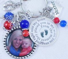 Check out this item in my Etsy shop https://www.etsy.com/listing/224893232/new-baby-key-chain-personalized-new-baby