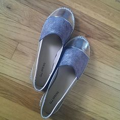 Gold Metallic Flats Gold flats in excellent new condition, worn once! Call It Spring Shoes Flats & Loafers