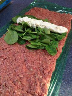 Keto Meatloaf – Stuffed w/ Goat Cheese @Megan Ward Ward Ward Elizabeth this whole website is great!!