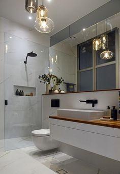 This is a super-stylish bathroom!
