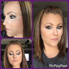 Smokey Eye!  Get everything you need to make your eyes pop! I am in love with this smokey eye! long lasting eye makeup eye makeup ideas             www.youniqueproducts.com/CandisDeisler