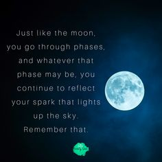 The full moon affirmation is a powerful way to remind yourself of who you are and what you want from this life. Despite the ups and downs, you always have that spark that keeps you alive and true to who you are. Moon Quotes, Fact Quotes, Life Quotes, Mantras For Anxiety, Ups And Downs, Quotes About Strength, Positive Affirmations, My Books, Reflection