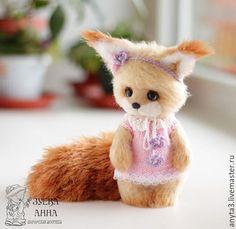 Вязанная игрушка белочка #toy #cute #squirrel #teddy