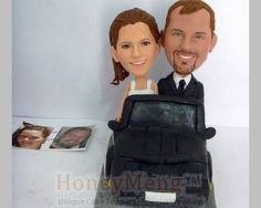 Sitting in car Custom Cake Toppers head to toe personalized cake topper made from photo Personalized Wedding Cake Toppers, Custom Cake Toppers, Head To Toe, Wedding Cakes, Trending Outfits, Car, Handmade Gifts, Vintage, Etsy