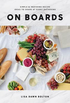 Simple & Inspiring Recipe Ideas to Share at Every Gathering by Lisa Dawn Bolton. Turn simple food into beautiful boards with more than 100 easy recipes and ideas. Pasta Recipes, Gourmet Recipes, Healthy Recipes, Cooking Recipes, Cooking Ideas, Cooking Pork, Rice Recipes, Delicious Recipes, Healthy Foods