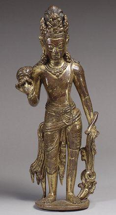 Standing bodhisattva [Nepal] (1981.59) | Heilbrunn Timeline of Art History | The Metropolitan Museum of Art