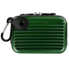 Metal Carrying Hard Case  (Green)