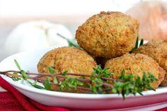 Polpette di ceci - Fidelity Cucina Falafels, Mezze, Healthy Summer, Finger Foods, Baked Potato, Buffet, Vegan Recipes, Cooking, Breakfast