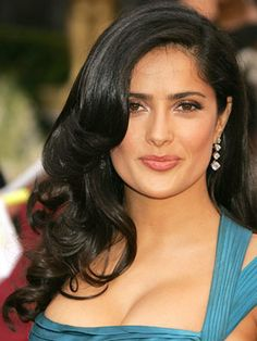 (My husband's first Latina crush)Salma Hayek, 2006, I absolutely love this hairstyle and always have