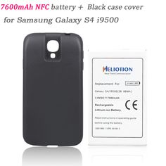 93407bed683 Batteria 7600mah Replacement NFC Battery Bateria +Back Cover for Samsung  Galaxy S4 i9500 Phone Commercial Extend Thicker Battery-in Mobile Phone  Batteries ...