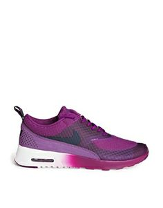 half off 5fc16 6dbed Nike Air Max Thea PRM Purple Trainers at asos.com