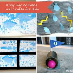 40 Ideas for Rainy Day Activities and Crafts for Kids