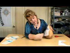 ▶ Transferring Miriam Joy Patterns onto a Gourd - YouTube